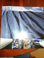 Yamaha YZ/WR brochure 2001 USA market large format
