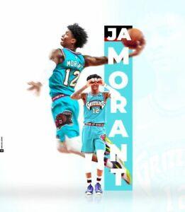 JA MORANT Poster Wall Art Home Photo Print 24 x 30 inch 8