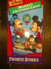 Walt Disney Mini Classics - Mickeys Christmas Carol (VHS, 1997)
