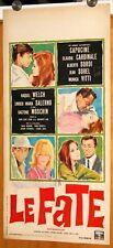 locandina film LE FATE Alberto Sordi Claudia Cardinale Raquel Welch 1966