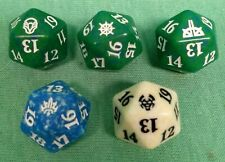 Magic the Gathering lot of 5 Spindown ( d20) dice