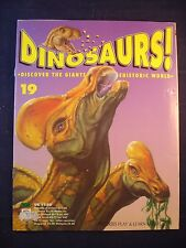 DINOSAURS MAGAZINE - ORBIS  - Play and Learn - Issue 19 - Corythosaurus