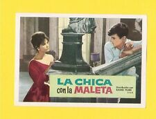 Claudia Cardinale Jacques Perrin Rare CINE 1962 Card from Spain