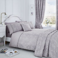 Jasmine Lavender Bedding Choice of Duvet Sets Throws Curtains or Cushion Covers