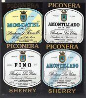 Etiquetas de vinos del Marco de Jerez (DB-817)