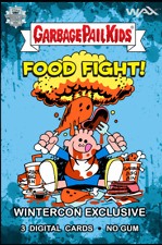 Garbage Pail Kids Food Fight WinterCon 2021 Day 1 pack Exclusive GPK Blockchain