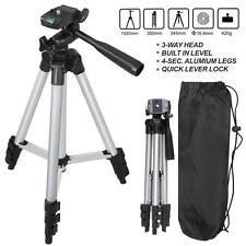 Universal Aluminum Portable Tripod Stand W/ Bag Canon Nikon Camera Camcorder