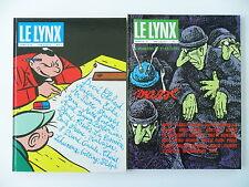 Le Lynx -  numéro 6+7 (Nr: 6+7) (Comics - Französisch) Hardcover