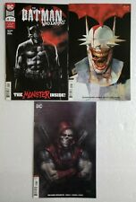 🔥 BATMAN WHO LAUGHS #4 5 & RED HOOD OUTLAWS 33 1ST PRINT VARIANT LOT DC