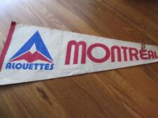 Vtg ALOUETTES Pennant Montreal Late 70's Football 30 inch