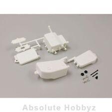 Kyosho MP9 TKI3 Battery & Receiver Box Set (White) - KYOIFF001W