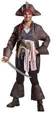 ADULT DISNEY POTC 5 JACK SPARROW PIRATE DELUXE  COSTUME DG22925