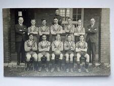 SWINDON FOOTBALL calcio 1937 1938 old postcard cartolina fotografica England