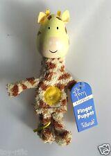 "GIRAFFE - in legno ""raccontare una storia"" Finger Puppet-Fiesta Crafts-NUOVO di zecca!"