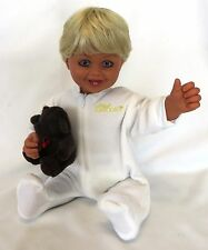 "2007 Retired 20"" MY TWINN TODDLER Poseable Doll w/Original Romper: DANIELLE Face"