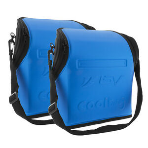 BV Insulated Handlebar Bag for Warm or Cold Pouch Commuter Touring Bags - Pair