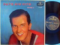 Pat Boone ORIG OZ LP Pat's big hits Volume 2 EX '58 London HAA2098 Pop Rock