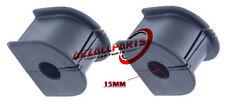 Para Brújula Patriota calibre 06 07 08 09 10 Trasero Espalda Anti Roll Bar Bush 15 mm