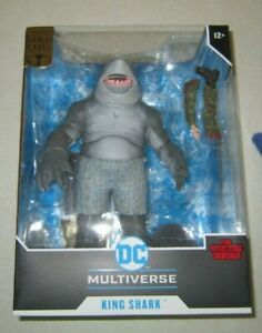McFarlane Toys Gold Label Suicide Squad King Shark Walmart Exclusive In Hand