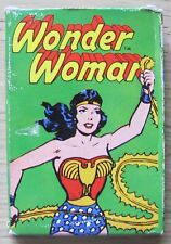 CARD GAME WHITMAN - WONDER WOMAN - DC COMICS 1978 - 36 CARTE IN SCATOLA - RARE*