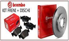 08A91511 Dischi freno + pastiglie Brembo posteriori Alfa Mito 1.6 JTDM 85 Kw