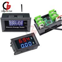 20A 120V/100V 10A LCD Voltage Current Power Meter Ammeter Voltmeter Monitor