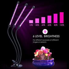 LED Pflanzenlampe Grow Lampe Pflanzenlicht Pflanzenleuchte 30W mit Timing