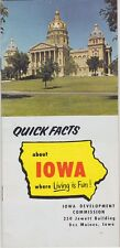 1969 Iowa Statistics And Facts Brochure