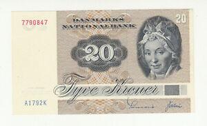 Denmark 20 kroner 1979 AUNC @ low start