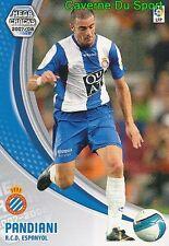 126 PANDIANI URUGUAY RCD.ESPANYOL TARJETA CARD MEGA CRACKS LIGA 2008 PANINI