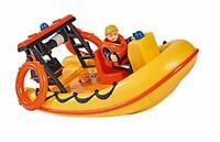 Simba – Feuerwehrmann Sam Neptune Boot, mit Penny Figur im Tauchoutfit, mit G...