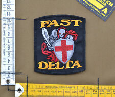 "Ricamata / Embroidered Patch DEA ""Fast Delta Knight"" with VELCRO® brand hook"