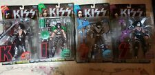 KISS McFarlane Toys Ultra Action Figures - Complete Set of 4