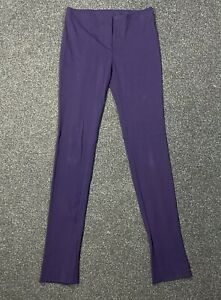 Women MISSONI Purple Viscose/Nylon Leggings Pants Size 38/40