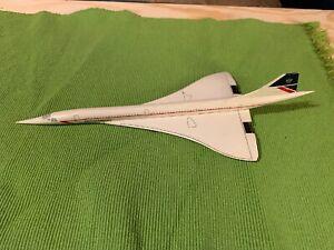 British Airways Concorde G-BOAC 1:400 Diecast Model Unknown Mfg