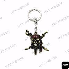 HTTMT Gold Pirates Sword Keychain Key Ring Unisex