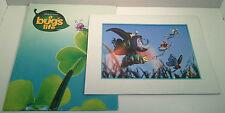 "1999 Lithograph Collection 14"" X 11"" Disney Store Pixar A Bug's Life"
