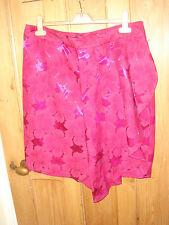 bnwt next cerise pink satin skirt £35 party stunning