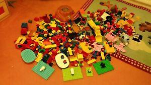 Lego duplo XXL konvolut Sammlung Bauplatten tiere Figuren Autos steine