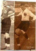 Carl Riegel + Nürnberg + Fußball Nationalspieler DFB + Fan Big Card Edition B177