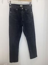 citizens of humanity charlotte high rise straight size 24 in oblivion $279