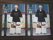 1992 Classic four Sport # 224 Manon Rheaume 2 card lot (B23)