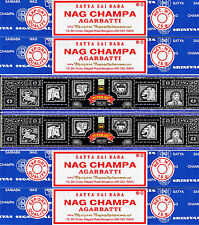 30g Super Hit Incense & 60g Nag Champa 6 Boxes 15 Grams per Box