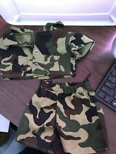Build A Bear Workshop BABW 2pc Army Military Outfit Clothes Camouflage