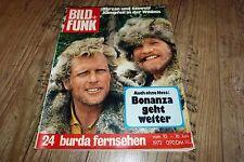 Bild und Funk Nr.24/1972 TB Raimund Harmstorf u Ron Ely,Udo Jürgens,Bonanza