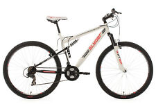 "Mountainbike Fully 29"" MTB Slyder Weiss-Rot 21 Gänge KS Cycling RH 51 cm 523M"