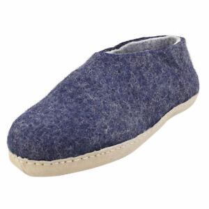 egos copenhagen Unisex Blue Slippers Shoes - 40 EU