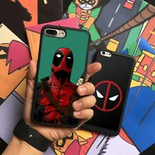 Deadpool Wade Wilson Marvel Silicone Phone Case Cover For iPhone Samsung Galaxy