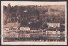 NOVARA MEINA 33 VILLA FARAGGIANA - LAGO MAGGIORE Cartolina viaggiata 1926