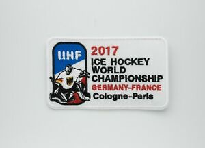 Embroidered Patch Badge IIHF 2017 Germany France Ice Hockey World Championship